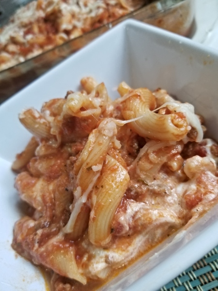 baked campanelle