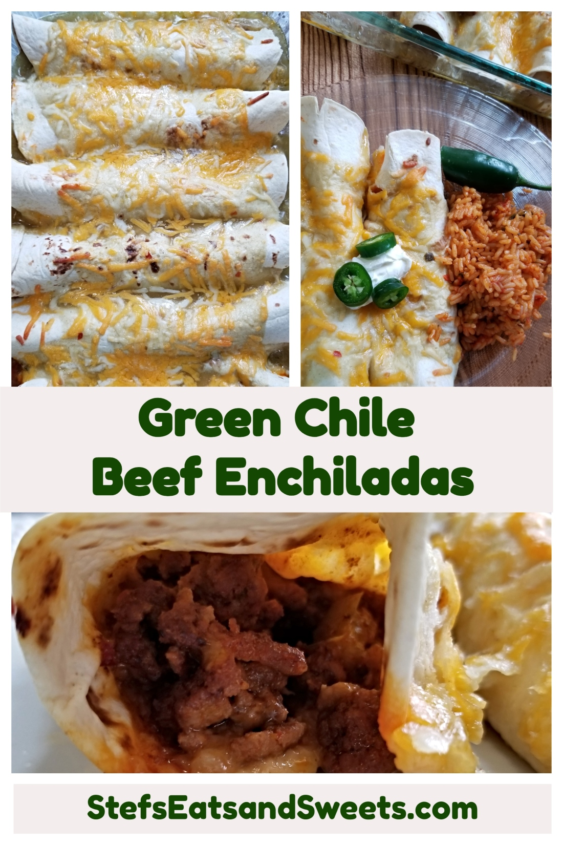 pinterest collage enchiladas