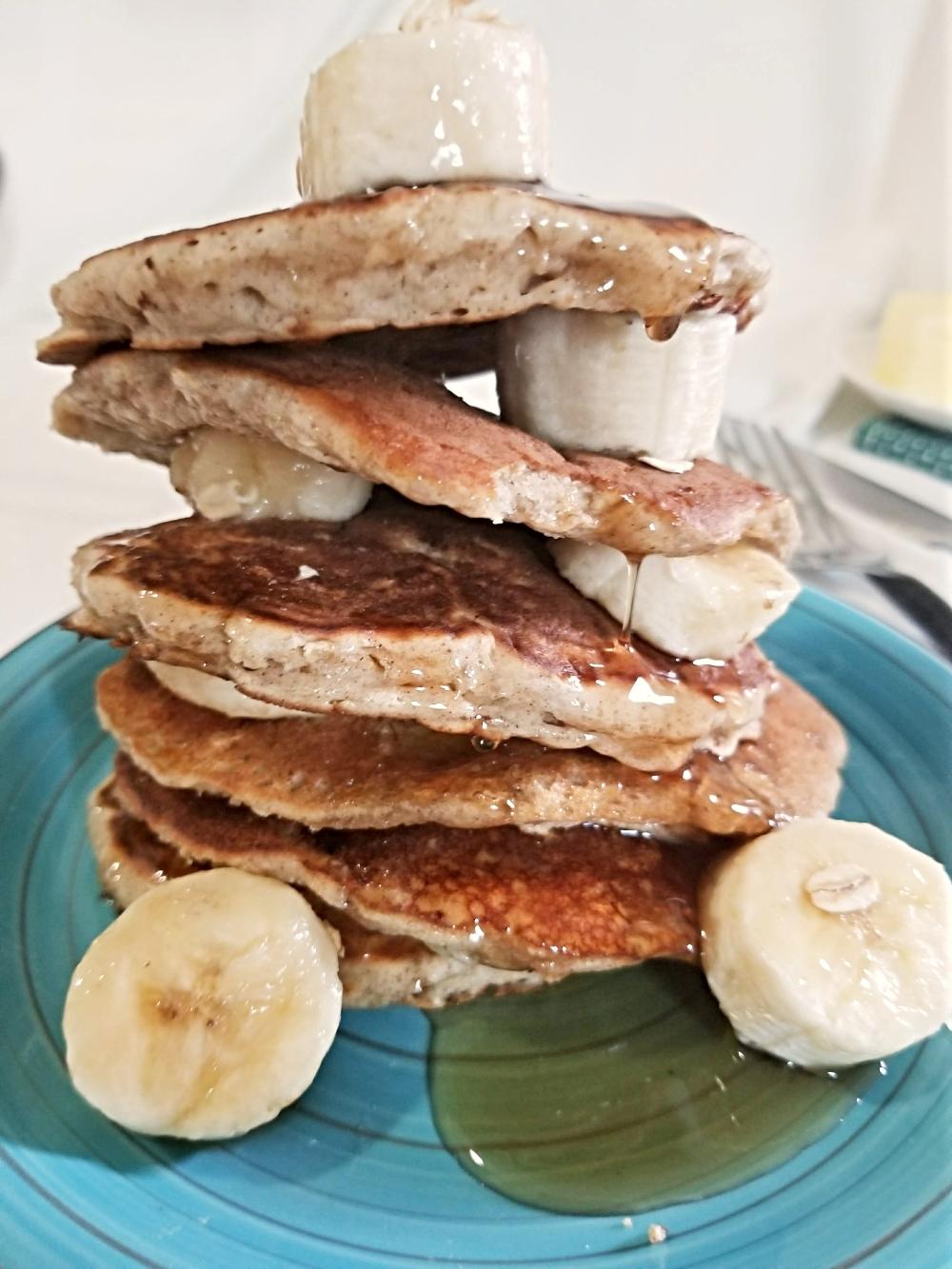 Oatmeal pancakes blog