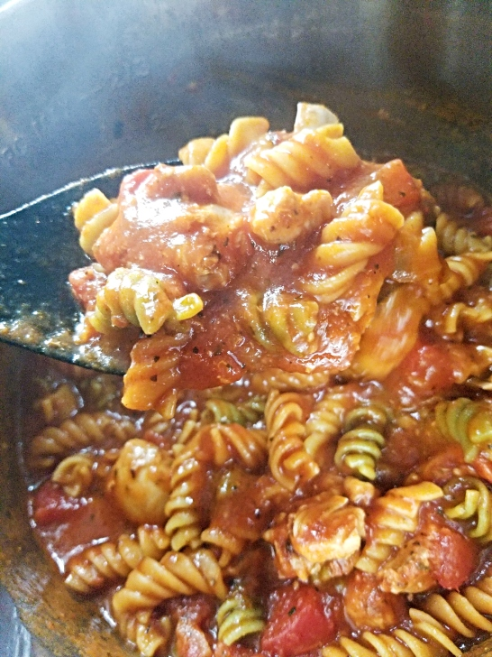 iP chicken marinara after cooked in process 4