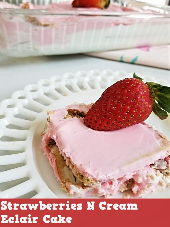 straberry eclair cake blog