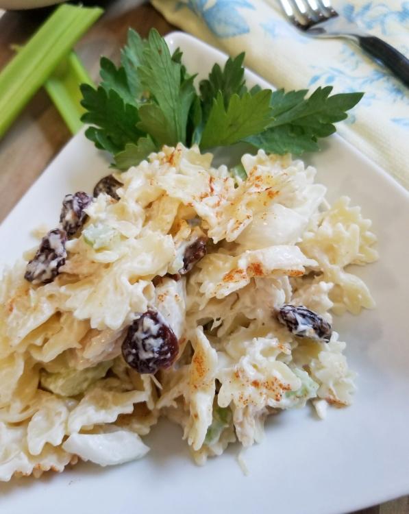 cherry chicken pasta salad 1