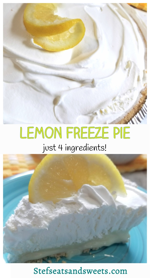 lemon freeze pie pinterest