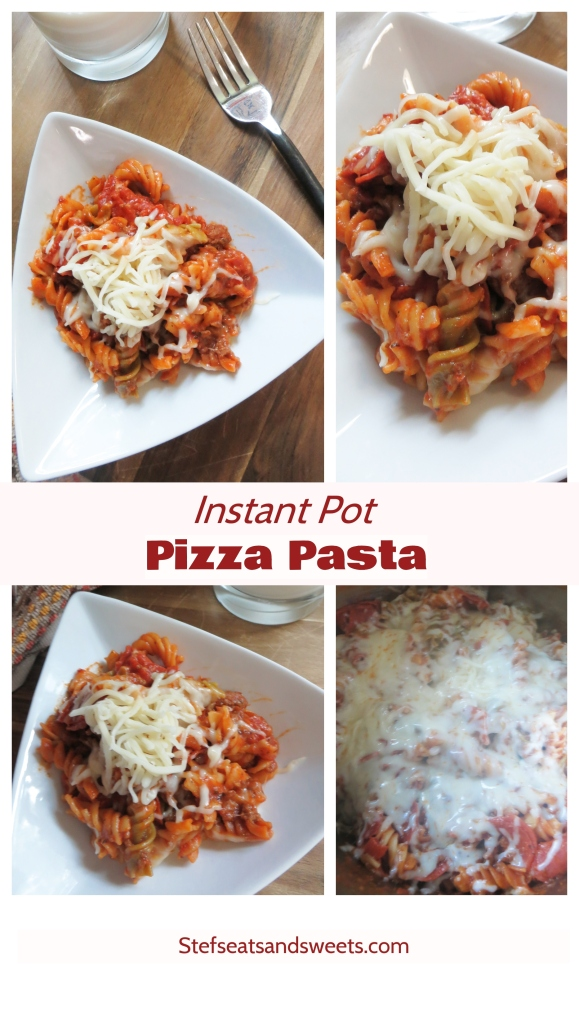 instant pot pizza pasta collage
